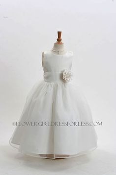 Maybe navy sash and green flower? Flower Girl Dress Style 2021-Ivory Dress with 3 Ivory Flowers $49.99