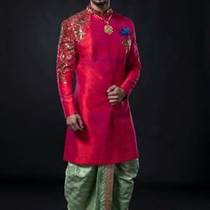Groom Outfit, Groom Attire, Groom Dress, Men Dress, Wedding Outfits For Groom, Indian Wedding Outfits, Bridal Outfits, Sherwani Groom, Wedding Sherwani