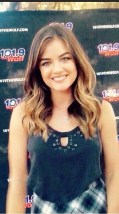 Lucy hale. Love the cut and colour