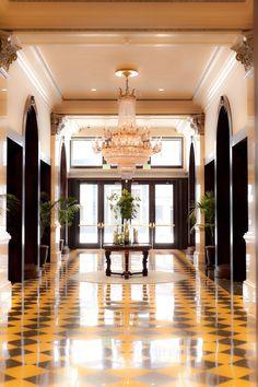 Hotel Interior Design Trends: US Grant Hotel - San Diego. See also: http://www.brabbu.com/en/inspiration-and-ideas/