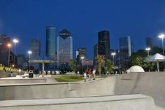 downtown building with great silouhettes Skate Park, Marina Bay Sands, Google Images, New York Skyline, Tokyo, Street View, Indoor, Urban, Architecture