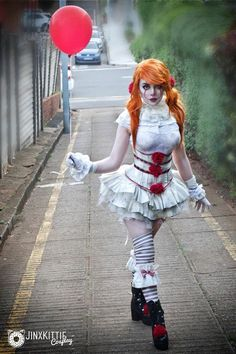 My Lolita inspired Pennywise cosplay! Cosplay designed and done by me: JinxKittie on Patreon PENNYWISE COSPLAY