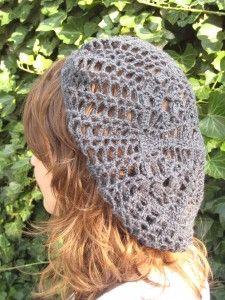 Free crochet pattern download for beret.