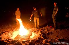 Beach Bonfire......♥