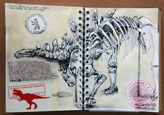history of dinosaurs Drawing in the Natural History Museum Berlin Germany. March 2016 Drawing in the Natural History Museum Berlin Dinosaur Sketch, Dinosaur Dinosaur, Dinosaur Drawing, Dinosaur History, Gcse Art Sketchbook, Museum Studies, Natural History Museum, Sketchbook Inspiration, Sketchbook Ideas