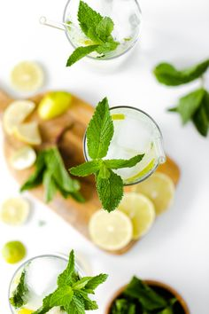 Classic Mojito with Agave - The best summer cocktail made with agave syrup instead of regular sugar. Mojito, Agaves, Best Summer Cocktails, Lemon Curd Filling, Morning Drinks, Vegan Restaurants, Drinks Alcohol Recipes, Great Recipes, Cheers