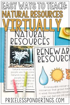 Your class will love these natural resources activities. They are fun hands on activities perfect for your second grade geography class. Click the picture to learn more!