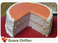 Guava Chiffon Cake - ILoveHawaiianFoodRecipes