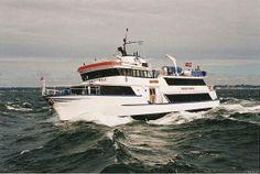 Erasmus på vej i havn i Helsingør