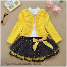Compra Fashion Spring Autumn Children Clothing Girls Floral Dress Suit Kids Princess Lace Three-piece Sets en Wish- Comprar es divertido Outfits Teenager Mädchen, Teen Girl Outfits, Little Girl Dresses, Outfits For Teens, Girls Dresses, Trendy Dresses, Dresses Dresses, Party Dresses, Baby Girl Winter