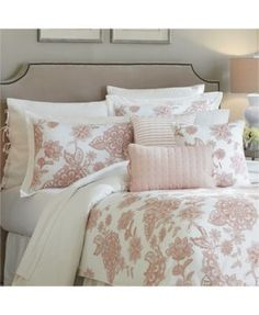 Croscill Fiona 4-pc Bedding Collection $37.99 Give your bedroom a delightful update with the lovely floral embroidery and beautiful rose tone of the Fiona bedding collection from Croscill.