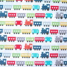 TRAFFIC-JAM-CARS-100-COTTON-FABRIC-kids-children-nursery-RETRO-BOYS-blue-beige