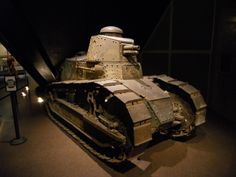 Renault FT on display at The National World War I Museum, Kansas City, Missouri.