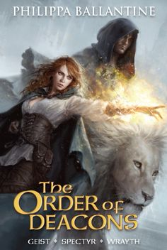 #CoverReveal The Order of the Deacons Omnibus by Philippa Ballantine. Art by Karla Ortiz. Coming 1/2013