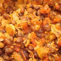 Leftover Pork Tenderloin Crock Pot Chili Recipe- use low sodium beef broth