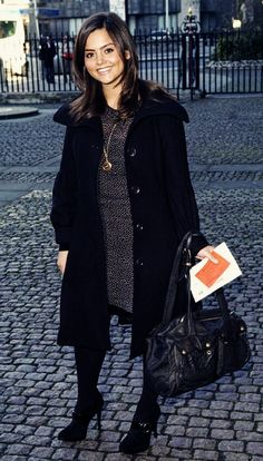 Jenna Louise Coleman.  I'm excited for a new companion!