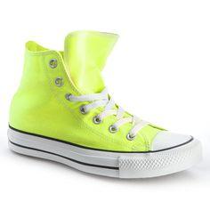 Converse Chuck Taylor All Star Hi Top Neon Yellow
