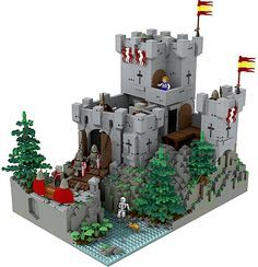 old lego sets | LEGO Castle Contest – Classic Set Reimagined: Recreate a classic ...