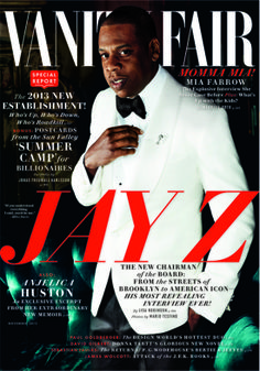 Jay Z photographed by Mario Testino / Vanity Fair November 2013