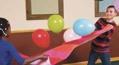 sunday school games balloon pop
