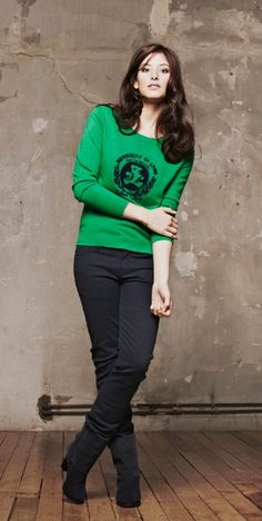 Pull col rond - Pullover with round collar