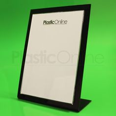 Card Holder & Note Holder A6 Label Holder Frame Desk Sign Holder Plastic Poster Frame Desk Art Photo Display Rack Home Decor Picture Stand Menu Holder Refreshing And Beneficial To The Eyes