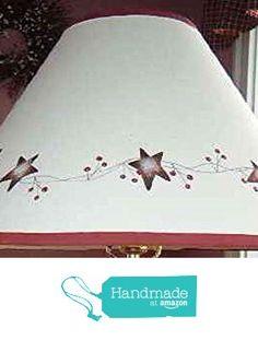 Rusty Tin Star Berry Natural Linen Lamp Shade from Primitive Country Loft House(FREE SHIPPING) http://www.amazon.com/dp/B01E1YFA3C/ref=hnd_sw_r_pi_awdo_vDLcxb1C3JCK9 #handmadeatamazon