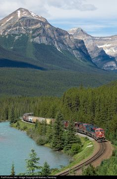 RailPictures.Net Photo: CP 8816 Canadian Pacific Railway GE ES44AC at Lake Louise, Alberta, Canada by Mathieu Tremblay