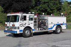 Center Township Volunteer Fire Department (La Porte, IN) Rescue 260 - 2002 Spartan/EVI Heavy Rescue http://setcomcorp.com/firewireless.html