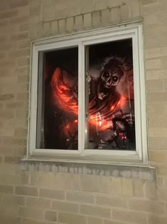 """Shamontiel wrote """"As condo association president, I approve this Halloween message ~ Stripper skeletons and Halloween decor? Count me in"""" #HappyHalloween2020 #Halloween2020 #HalloweenAtHome #GreatPumpkin #condoassociation (Photo credit: Shamontiel L. Vaughn)"""