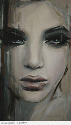 Saatchi Online Artist: Hesther Van Doornum; Acrylic, ..… na Stylowi.pl