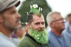 Flower Power Beard