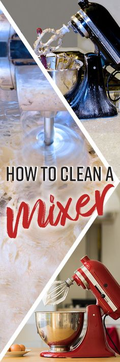 To keep it in good working order, it's important to give your entire mixer a good cleaning after every few uses, or more depending on frequency of use. You should be careful to include the various knobs, levers and ventilation ports, as well as areas you may not see, including fine grooves and crevices within the mixer design. Bbq Grill Cleaner, Spring Cleaning List, Clean Grill, Stand Mixer, Dry Brushing, Green Cleaning, Mixers, Kitchen Hacks, Melting Chocolate