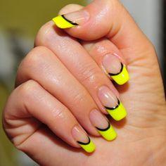 Ibd gel polish french nail design