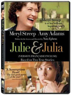 Meryl Streep and Amy Adams in Julie & Julia Julia And Julie, Roman, Chris Messina, Stanley Tucci, Children's Films, Funeral Poems, Nora Ephron, Fox Tv, Amy Adams