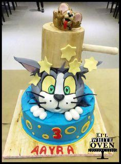 Tom and Jerry  - Cake by Gauri Kekre