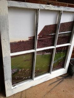 I am going to do this in Jackson's room. Can get a used window for $5!
