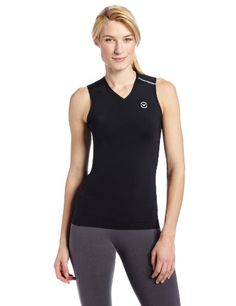 Virus Stay Cool Sleeveless Compression Top. Ventilated V-neck design adds to airflow and neckline comfort. #dansbasketball #basketball #virus #compression #fashion #afflink