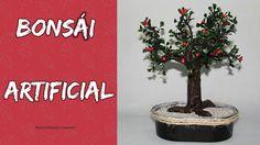 manualidades herme: DIY  Bonsai Artificial