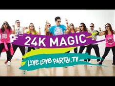 24K Magic (Cover by The Gorenc Siblings)   Live Love Party   Zumba® - YouTube