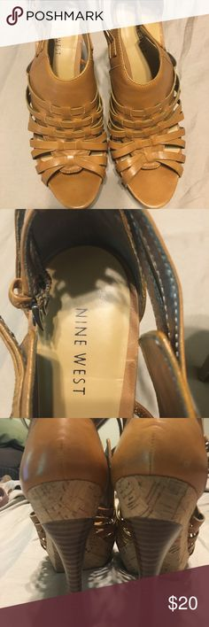 Nine West heels size 9 EUC heels with intact straps and strong hold heels. No damages or issues! Ready to wear! Nine West Shoes Heels