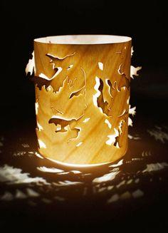 Cathrine Kullberg: wooden lamp
