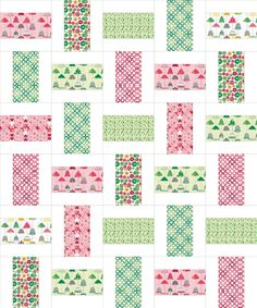simple but pretty quilt from sew we quilt and stash