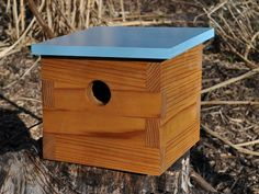 Modern Bird House  Tree Swallow No 1 by modernnestco on Etsy, $89.00  GREAT FATHER'S DAY GIFT!