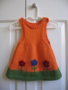 Anouk as a Dress by Alison Reilly - free knit pattern Este es el vestido que quería hacer