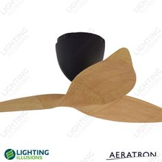 """Light Pine Aeratron AE Series - 3 Blade 50"""" DC Ceiling Fan + Remote - Shop - Lighting Illusions Online"""