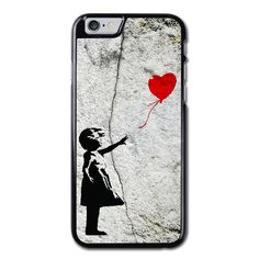 Banksy Balloon Girl Phonecase for iPhone 6/6S Case Brand new.Lightweight, weigh approximately 15g.Made from hard plastic, also available for rubber materials.The case only covers the back and corners of your phone.This case is a one-piece case that covers the back and sides of the phone. There is no front for the case.This is a non-peeling nor a non-fading print. Meaning, over time it will continue to look just as amazing as it did when you first received it.
