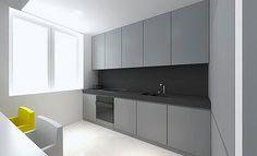 Tamizo Architects with Contemporary Small Flat Interior Design