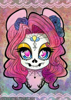Mlp sugar skull mlp