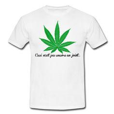 À la manière de Magritte avec sa pipe.... Cannabis
